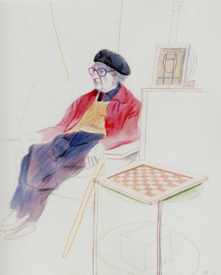 David Hockney. Man Ray
