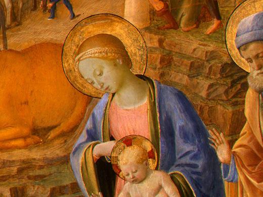 Fra Filippo Lippi. The adoration of the Magi