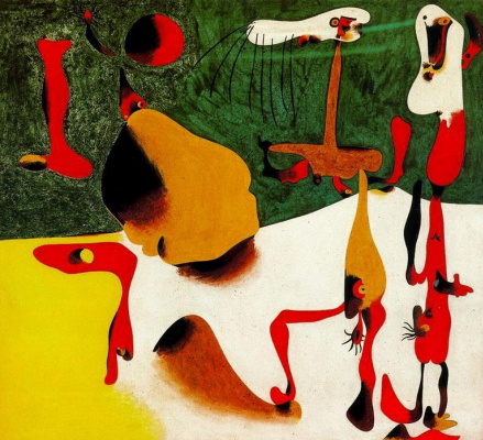 Joan Miro. Metamorphosis