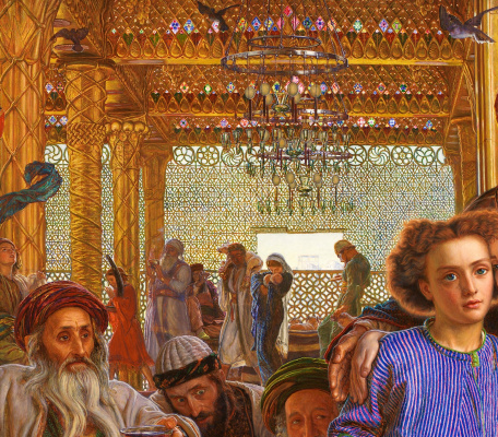 William Holman Hunt. The finding of the Saviour in the temple. Fragment II