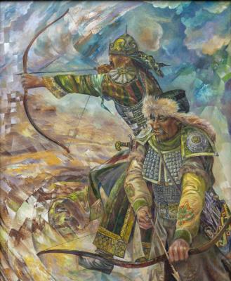 Rinat Salimzyanovich Khanafeev. Steppe trilogy