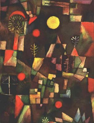 Paul Klee. Full moon