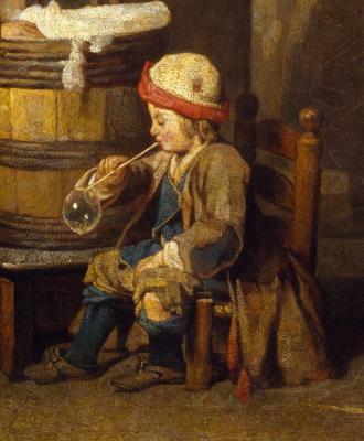 Jean Baptiste Simeon Chardin. Laundress. Fragment