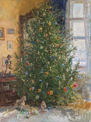 Aleksandr Chagadaev. Christmas tree