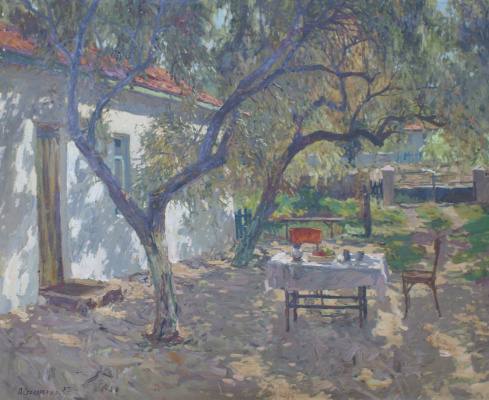 Petr Kuzmich Stolyarenko. Crimean courtyard