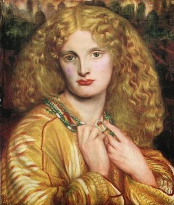 Dante Gabriel Rossetti. Helen Of Troy