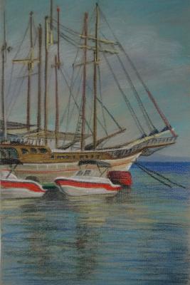 Ирина Соболева. Яхты