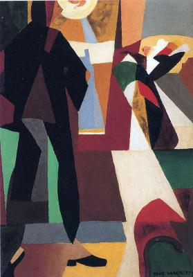 René Magritte. Feet