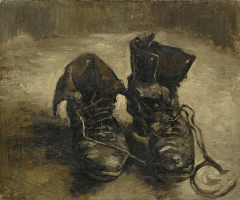 Vincent van Gogh. Shoes