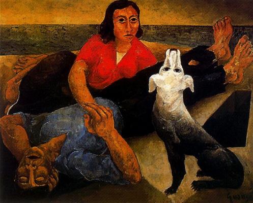 Антони Гуанс. Белая собака