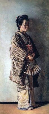 Василий Васильевич Верещагин. Японка