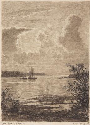 Ivan Ivanovich Shishkin. On Malaya Neva