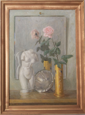 Sergey Yakovlevich Lagutin. In front of the mirror