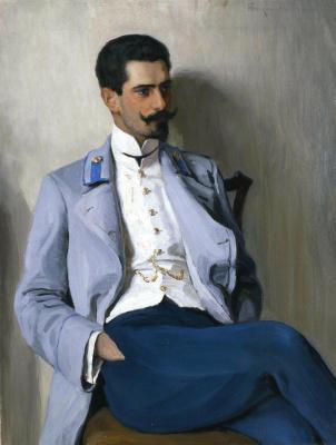 Nikolay Petrovich Bogdanov-Belsky. Prince Alexander Gorchakov