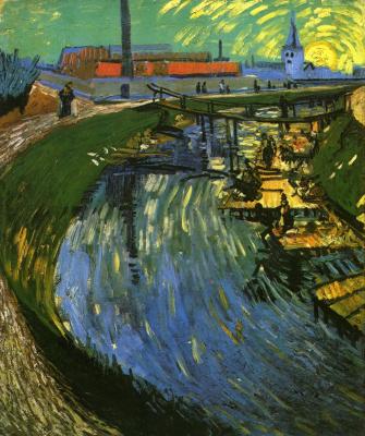 Винсент Ван Гог. Канал и стирающие женщины
