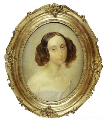 Karl Pavlovich Bryullov. Portrait of Grand Duchess Olga Nikolaevna