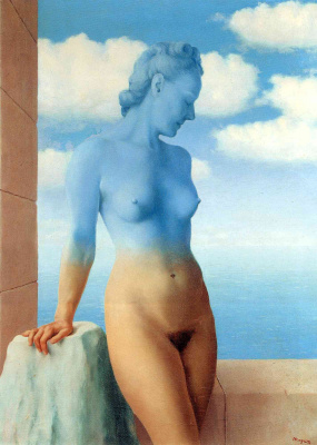 René Magritte. Black magic