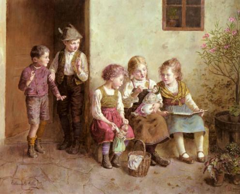 Эдмунд Адлер. Ужин куклы