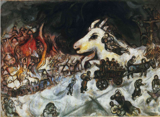 Marc Chagall. War
