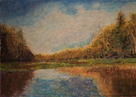 Albert Safiullin. River PRA. Okskiy reserve.