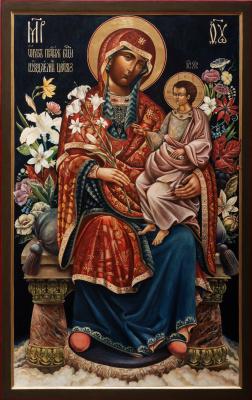 Павел Леонидович Корзухин. Образ Пресвятой Богородицы Неуядаемый Цвет