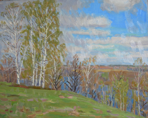 Евгений Александрович Казанцев. Cold spring on Msterke.