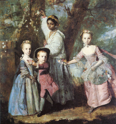 Joshua Reynolds. Children of Edward Holden Krattenden