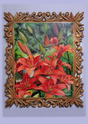 Bogdan Nikolaevich Doroshenko. Orange lily