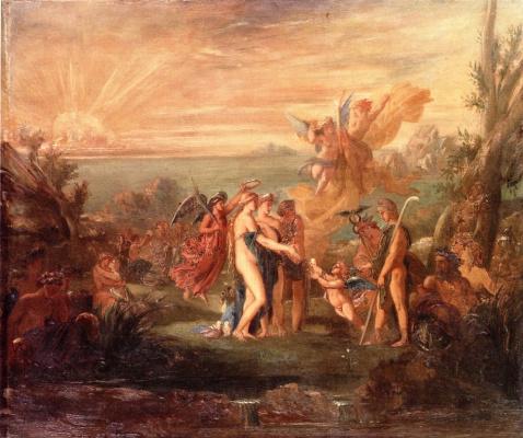 Gustave Moreau. Paris court