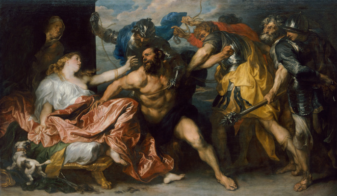 Anthony van Dyck. Samson and Delilah