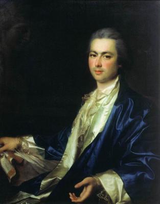 Портрет неизвестного из семьи Салтыковых