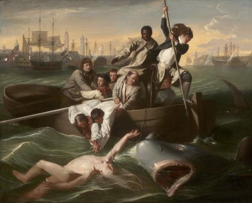 John Singleton Copley. Watson and the shark II