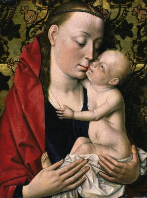 Мастерская Дирка Боутса. Мадонна с младенцем 1475-1500