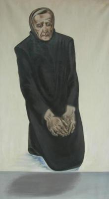 Ksenia Vasilyevna Nechitailo. Grieving