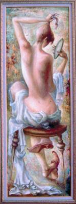 Автандил Невроевич Накашидзе (Кутубидзе). With a mirror