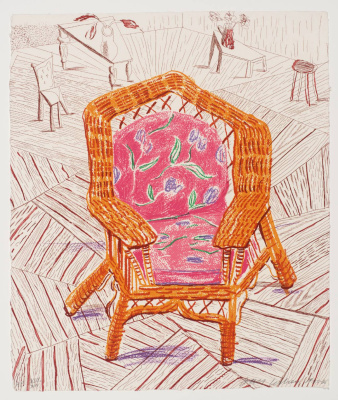 David Hockney. Number One Chair