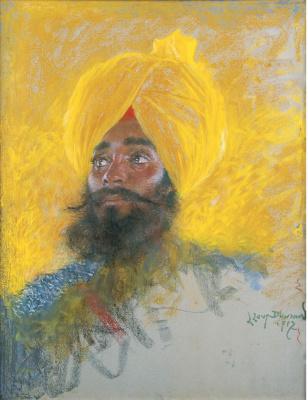 Lucien Levi-Durme. Sikh