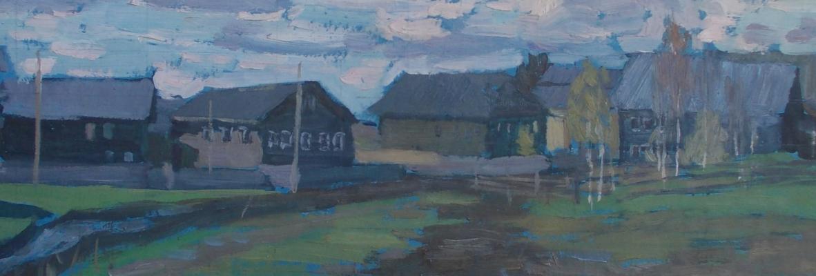 Nina Vasilievna Sedova. Spring in the village