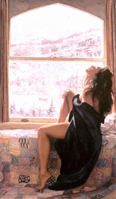 Steve Hanks. On the other side of winter