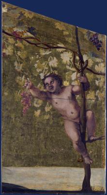 Аннибале Карраччи. Сбор винограда