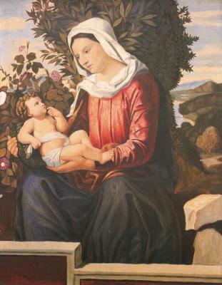 Антонио Медаль. Мадонна с младенцем