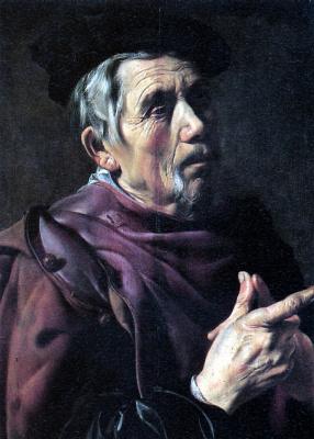 Ян Вутерс. Старик в берете