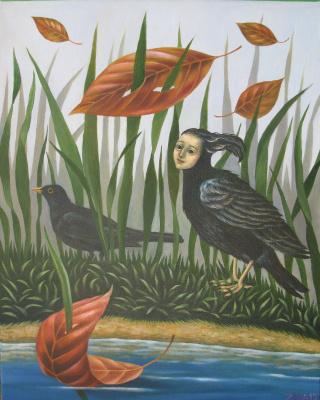 Ира Зайцева. Заколдованная птица