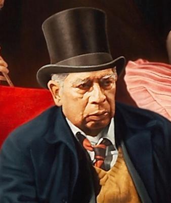 Луис Хосе Естремадойро. Портрет художника
