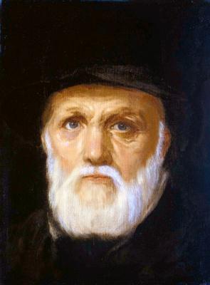 Cornelis van Haarlem. Portrait of a bearded man