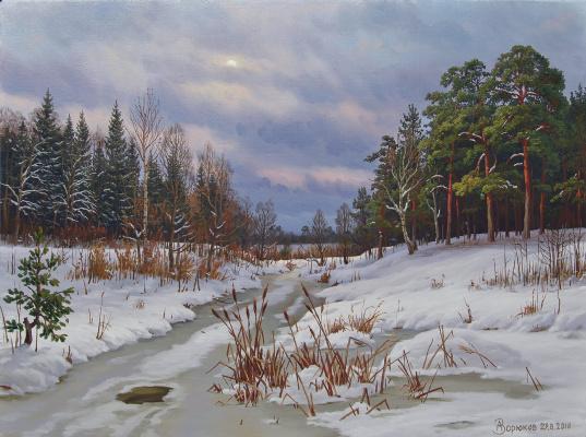 Alexander Vasilyevich Zoryukov. Spring to meet