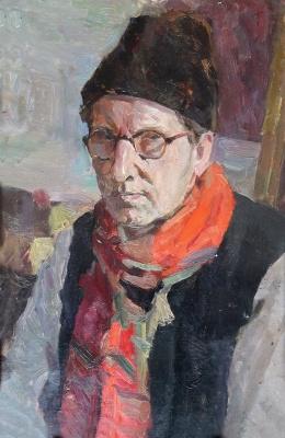 Sergey Leonidovich Ascension. Self portrait