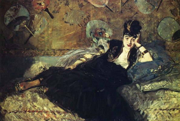 Эдуар Мане. Дама с веерами. Портрет Нины де Каллия