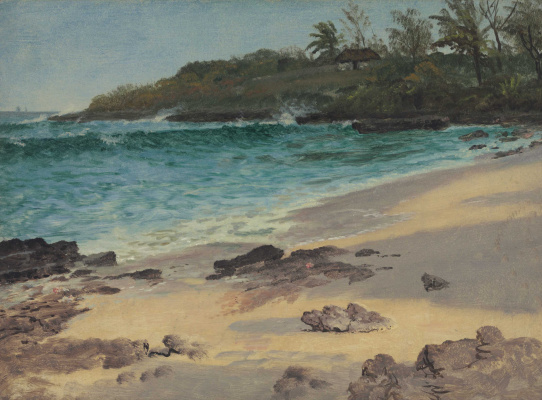 Albert Birštadt. Bahamian Bay
