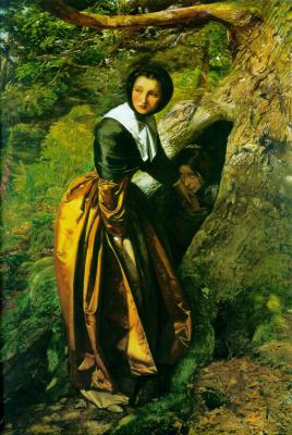John Everett Millais. A refuge for the royalists